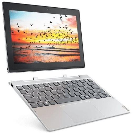 Lenovo Miix 320-10ICR Platinum 128GB + dock s klávesnicí - Tablet PC