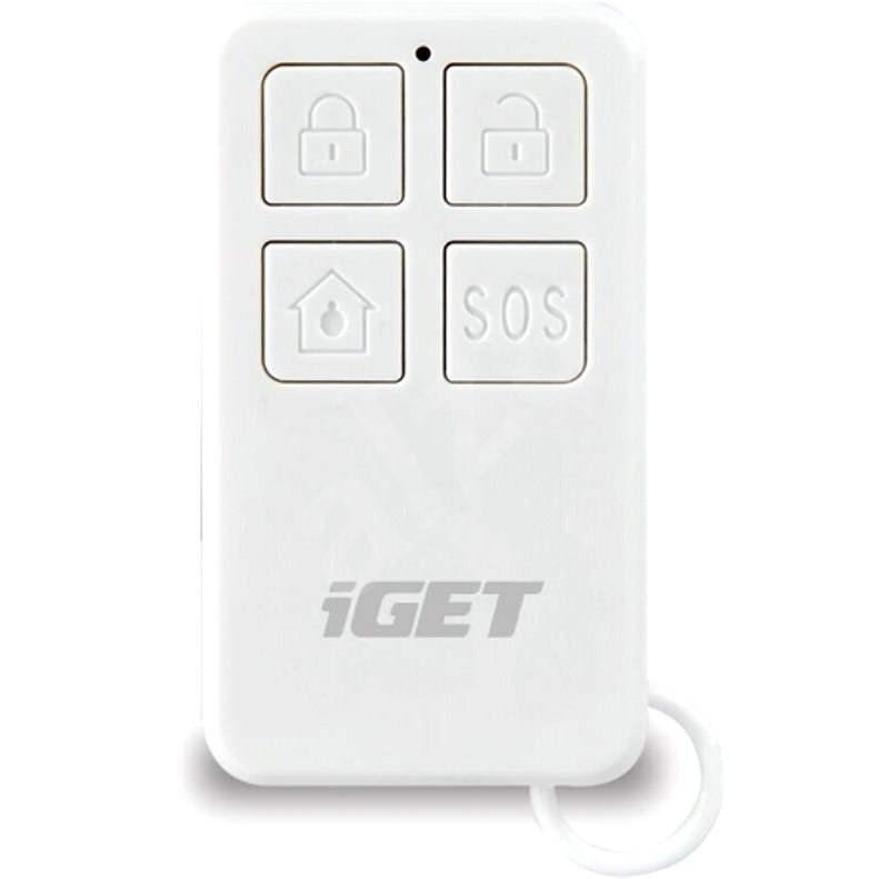iGET SECURITY M3P5 - dálkové ovládání (klíčenka) k obsluze alarmu pro iGET SECURITY M3 a M4 - Dálkové ovládání