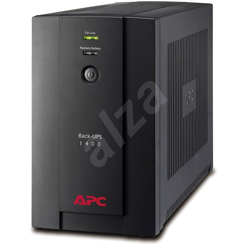 APC Back-UPS BX 1400 eurozásuvky - Záložní zdroj