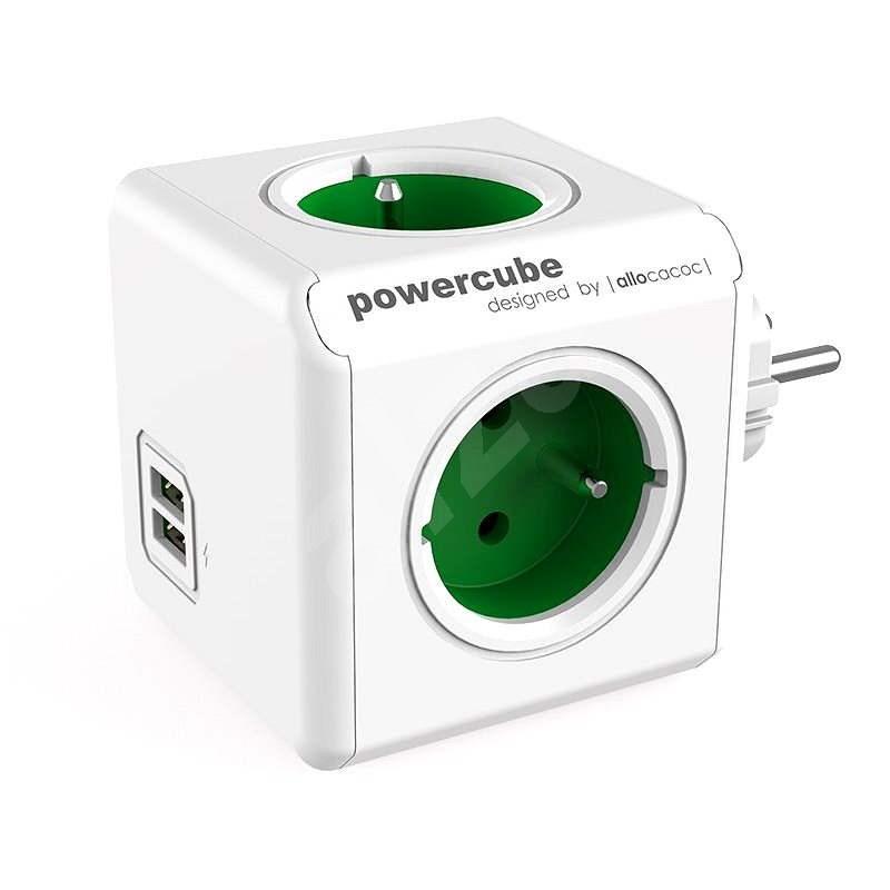 PowerCube Original USB zelená - Rozbočovač