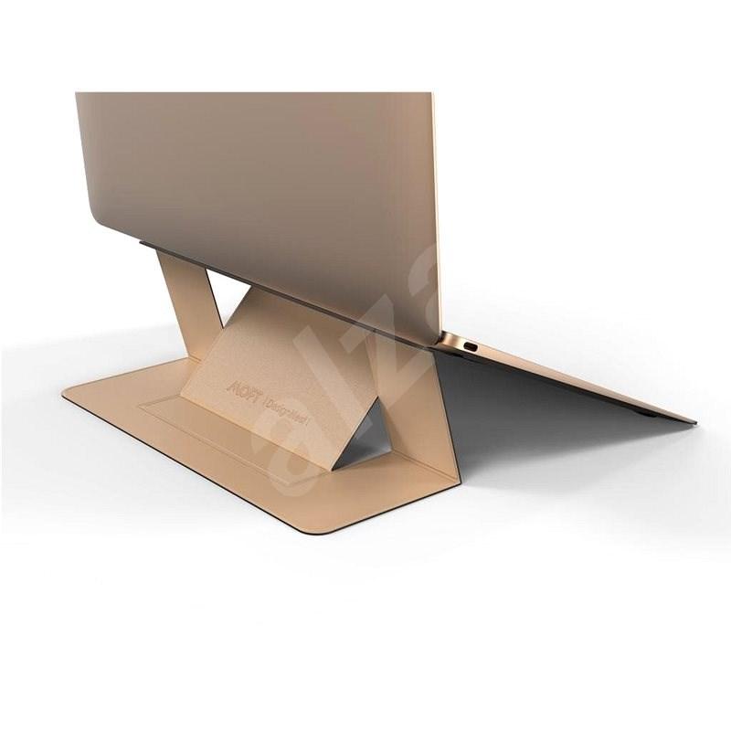 Allocacoc LaptopStand MOFT - zlatý - Stojan