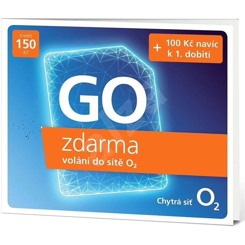 O2 Předplacená karta GO zdarma - SIM karta