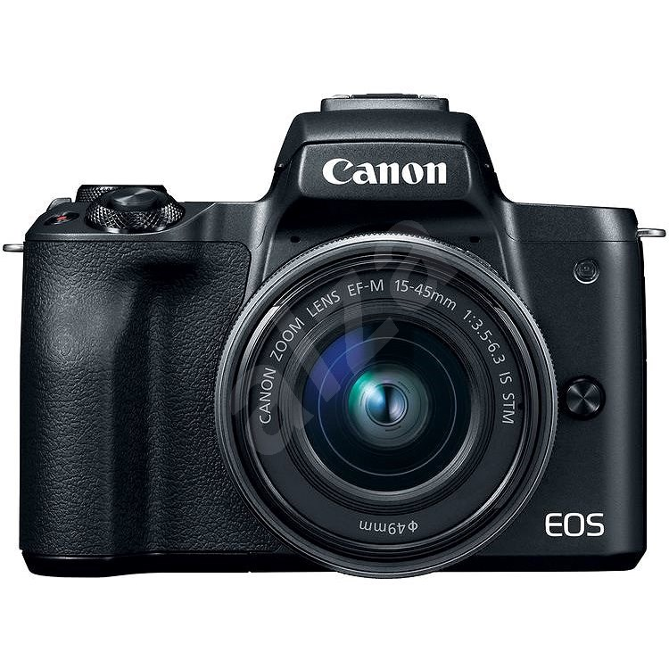 Canon EOS M50 černý + EF-M 15-45 mm IS STM - Digitální fotoaparát