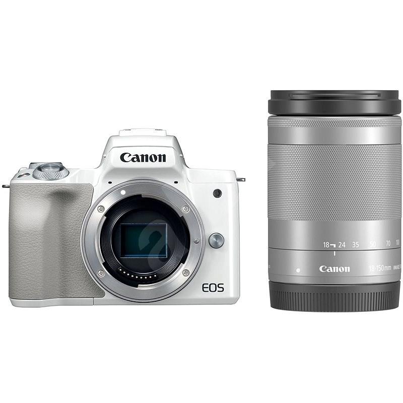 Canon EOS M50 bílý+ EF-M 18-150 mm IS STM - Digitální fotoaparát