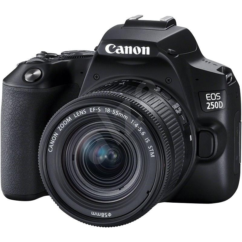 Canon EOS 250D černý + 18-55mm IS STM - Digitální fotoaparát