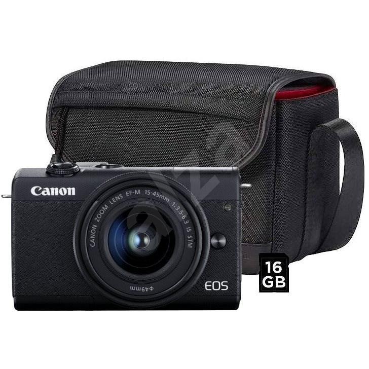 Canon EOS M200  + EF-M 15-45 mm f/3.5-6.3 IS STM Value Up Kit - Digitální fotoaparát