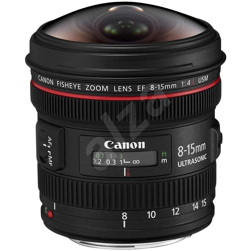 Canon EF 8-15mm f/4.0 L USM rybí oko - Objektiv