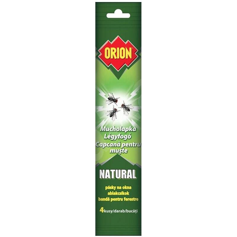 ORION Natural Mucholapka pásky na okna 4 ks - Lapač hmyzu