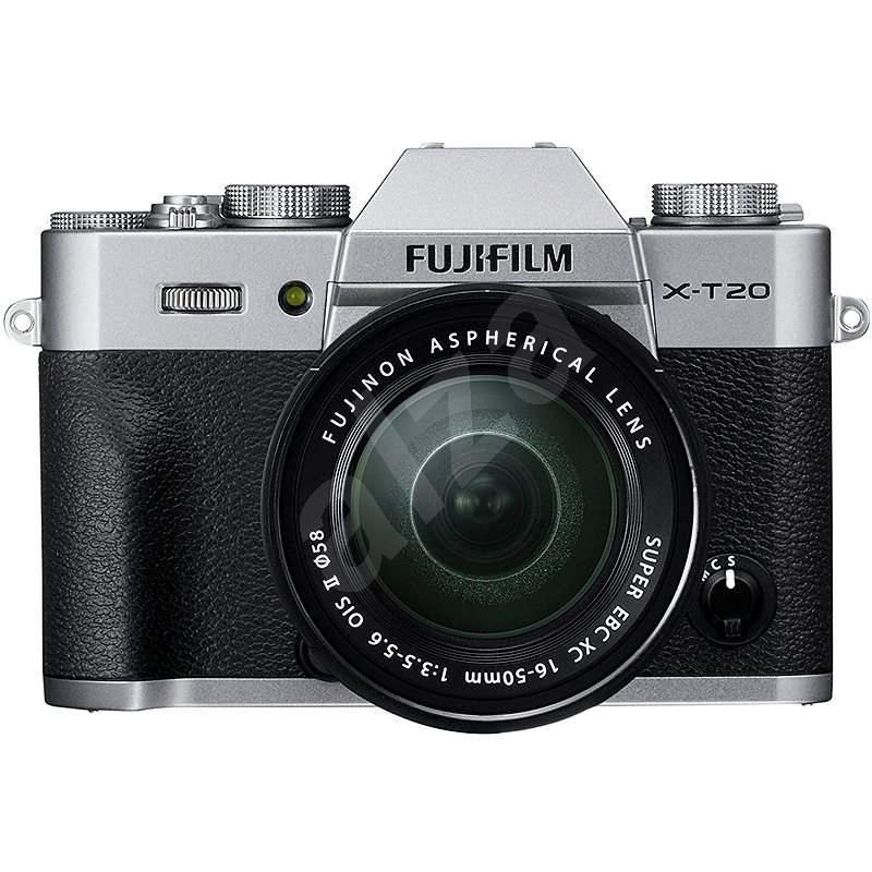 Fujifilm X-T20 stříbrný + XC16-50mm F3.5-5.6 OIS II - Digitální fotoaparát