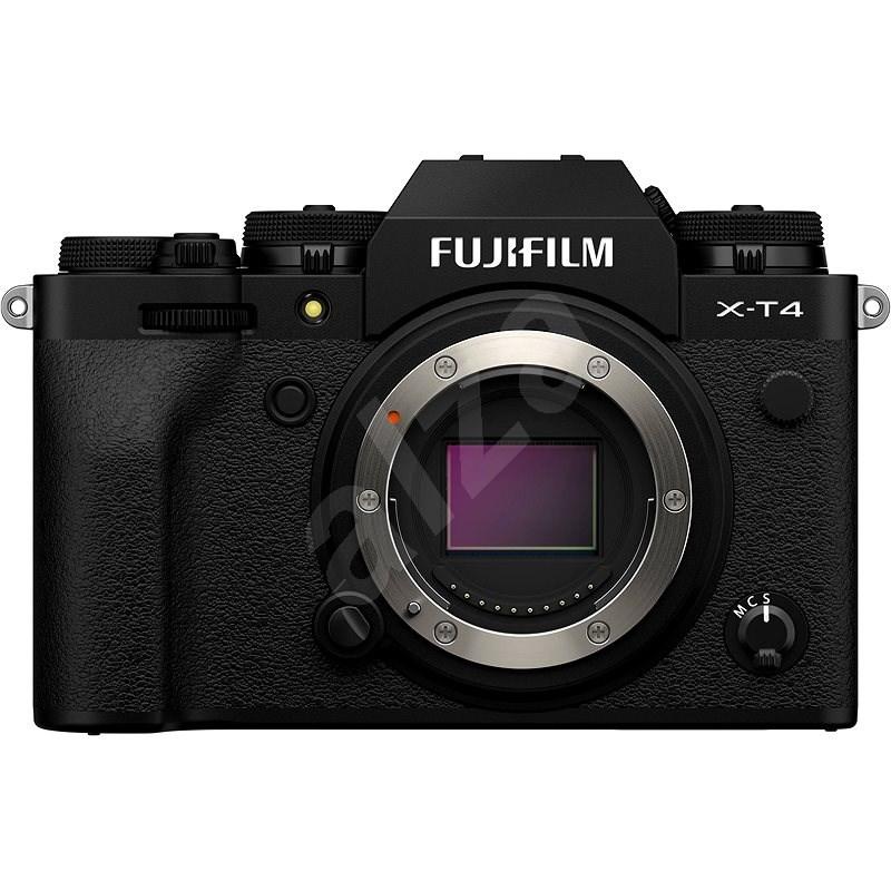 Fujifilm X-T4 tělo černý - Digitální fotoaparát