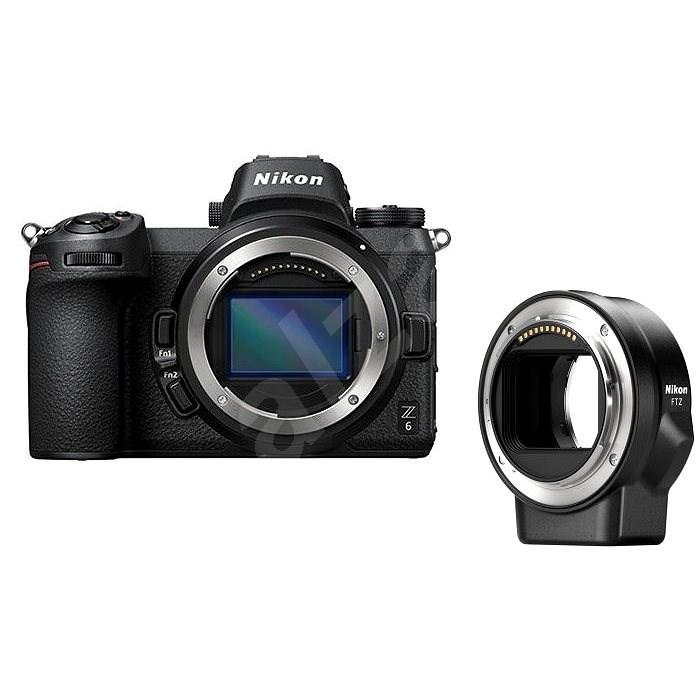 Nikon Z6 + FTZ adaptér - Digitální fotoaparát