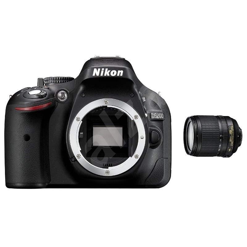 Nikon D5200 + Objektiv 18-105 AF-S DX VR - Digitální zrcadlovka