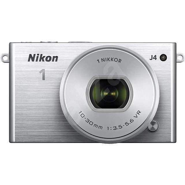Nikon 1 J4 + Objektiv VR 10-30mm Silver - Digitální fotoaparát