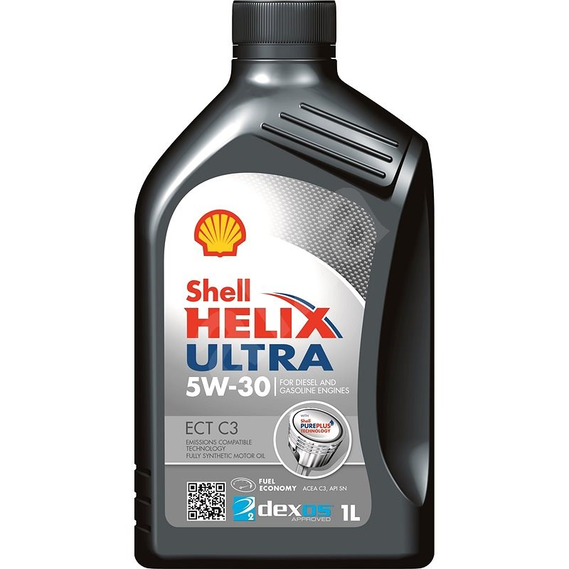 SHELL HELIX Ultra ECT C3 5W-30 1l - Motorový olej