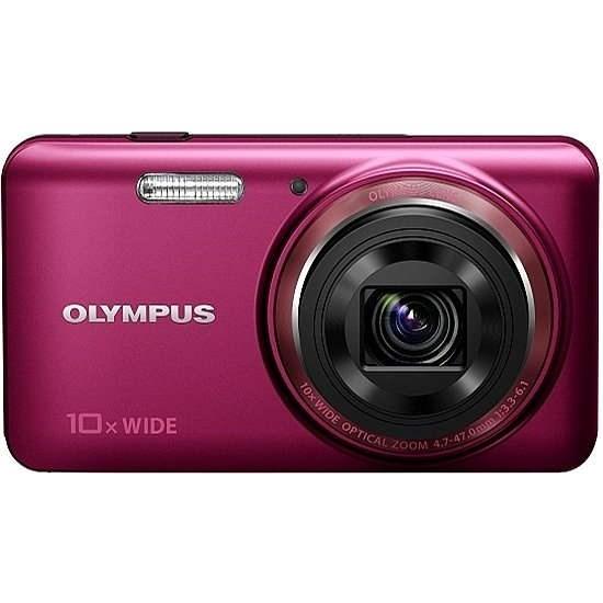 Olympus VH-520 red - Digitální fotoaparát