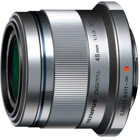 M.ZUIKO DIGITAL 45mm f/1.8 silver - Objektiv