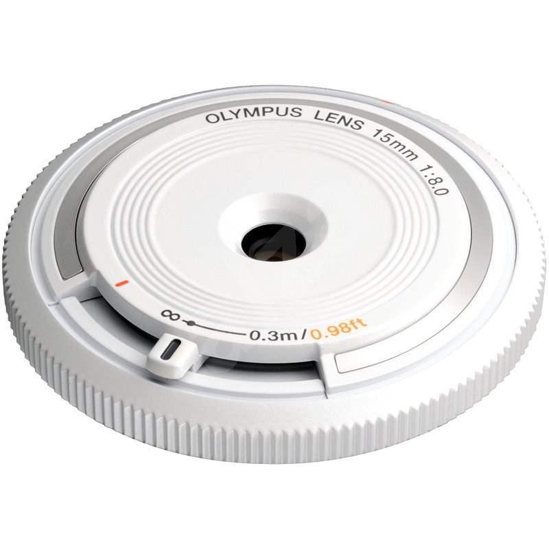 M.ZUIKO DIGITAL BCL 15mm f/8.0 white - Objektiv