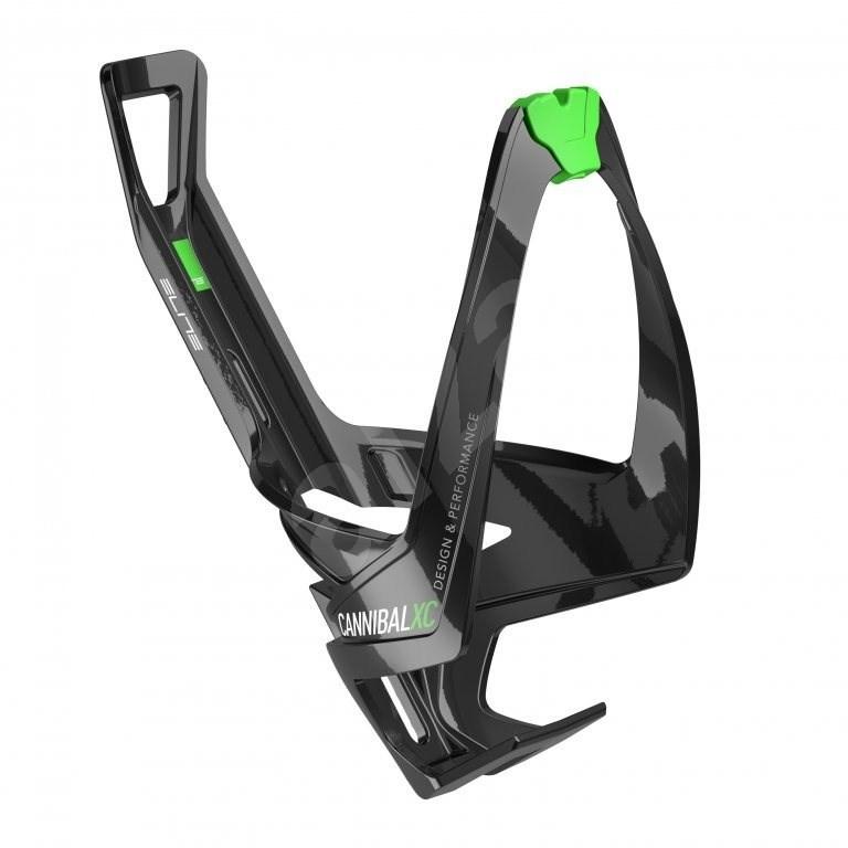 Elite Cannibal XC lesklý černý/zelený - Košík na lahev