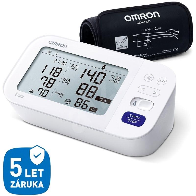 OMRON M6 Comfort s AFIB, 5 let - Tlakoměr