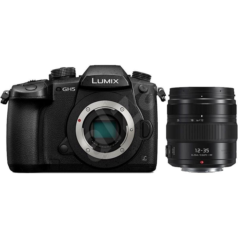 Panasonic LUMIX DMC-GH5 tělo + Panasonic Lumix G X 12-35mm f/2.8 II Power OIS černý - Digitální fotoaparát