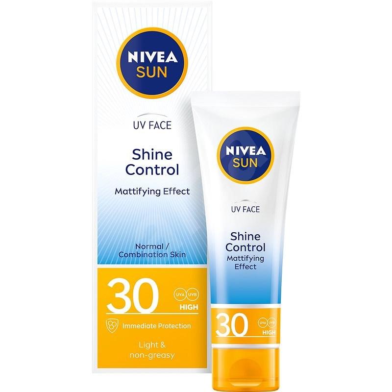 NIVEA SUN Shine Control SPF 30 50 ml - Opalovací krém