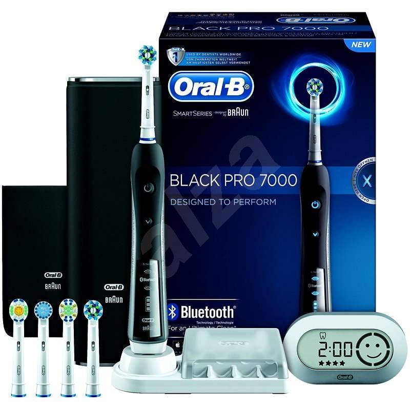 Oral-B Black Pro 7000 - Elektrický zubní kartáček