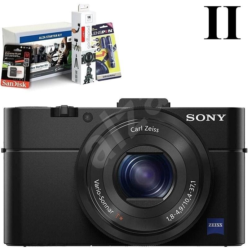 SONY DSC-RX100 II + Alza Foto Video Starter Kit - Digitální fotoaparát