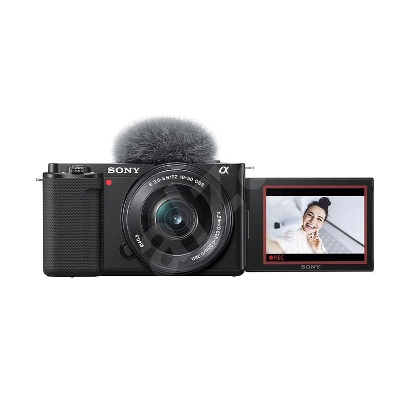 Sony Alpha ZV-E10 vlogovací fotoaparát + 16-50mm f/3.5-5.6 - Digitální fotoaparát