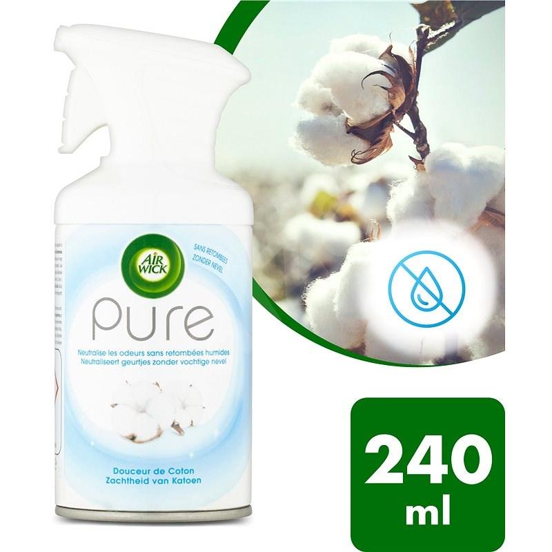 AIR WICK Spray Pure Jemná bavlna 250 ml - Osvěžovač vzduchu