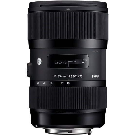 SIGMA 18-35mm f/1,8 DC HSM pro Canon ART - Objektiv