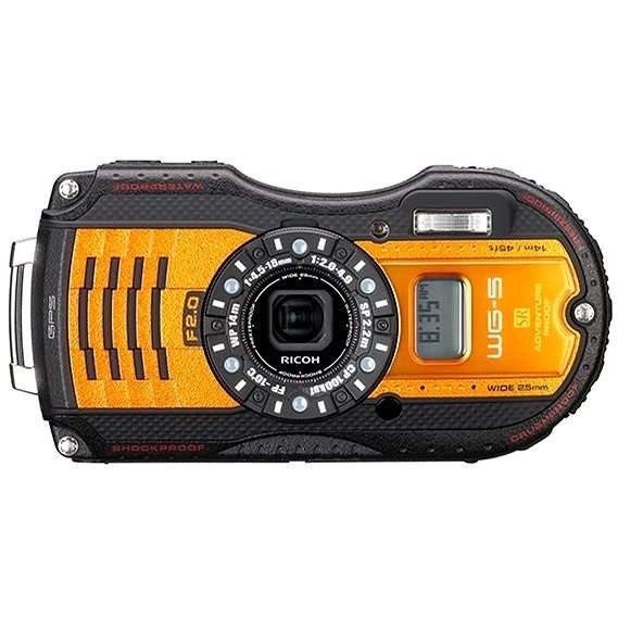 PENTAX RICOH WG-5 GPS Orange - Digitální fotoaparát