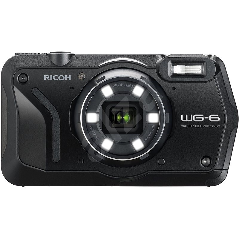RICOH WG-6 černý - Digitální fotoaparát