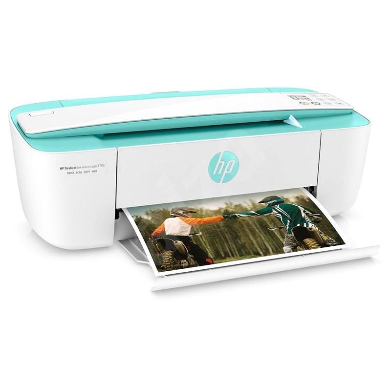 HP DeskJet 3789 tyrkysová Ink Advantage All-in-One - Inkoustová tiskárna