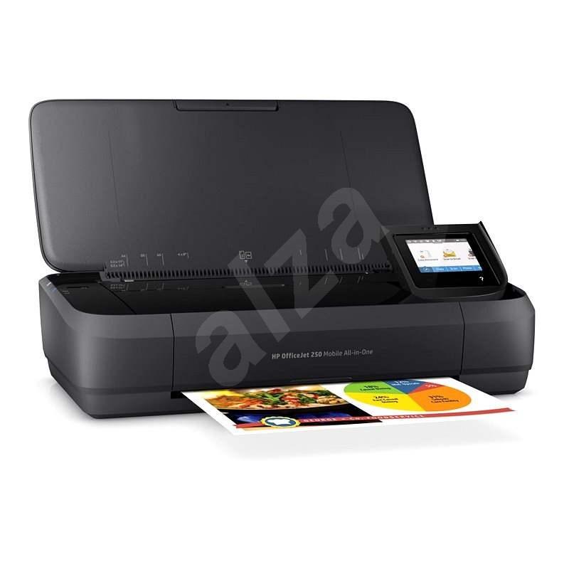 HP Officejet 252 Mobile AiO - Inkoustová tiskárna
