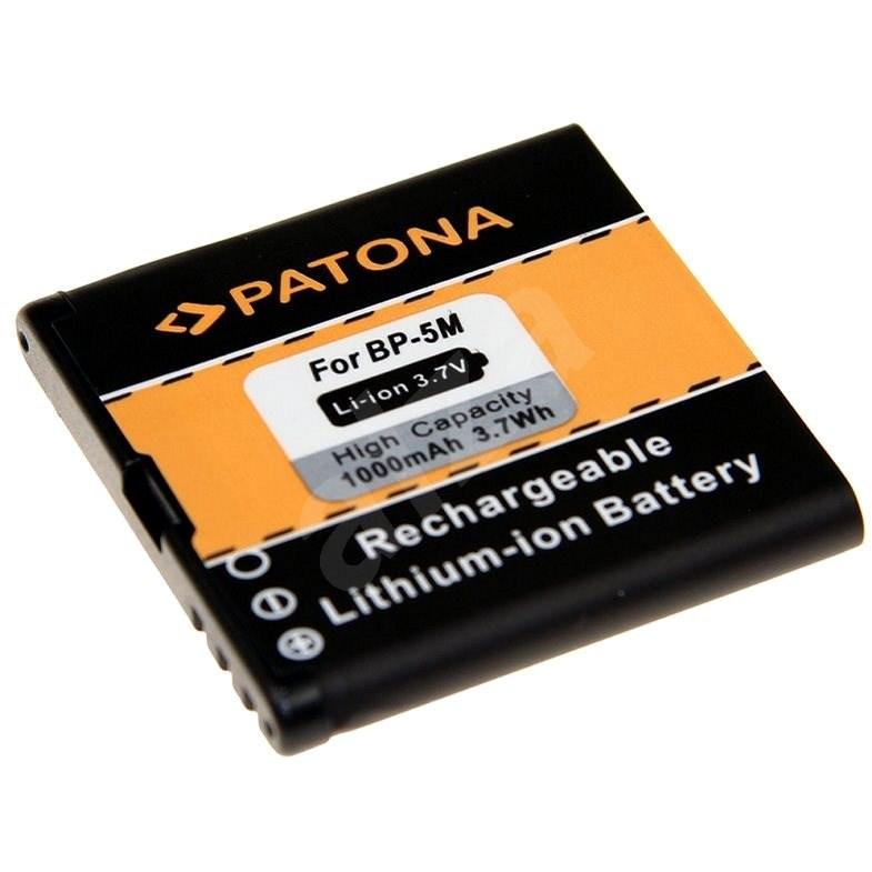PATONA pro Nokia BP-5M 1000mAh 3,7V Li-Ion - Baterie pro mobilní telefon