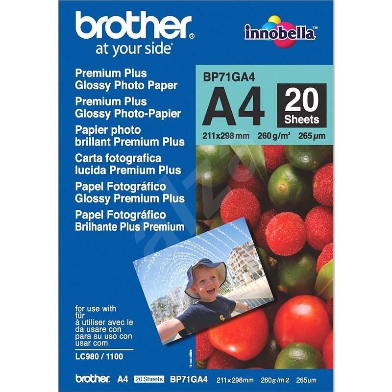Brother BP71GA4 Premium Glossy - Fotopapír