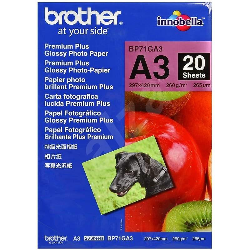 Brother BP71GA3 Premium Glossy - Fotopapír