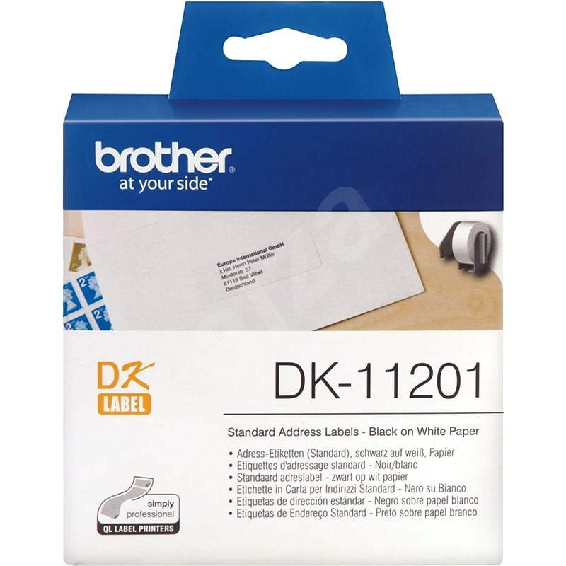 Brother DK-11201 - Papírové štítky