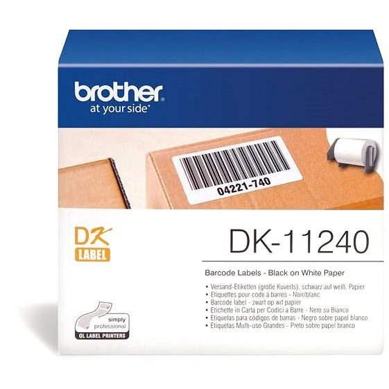 Brother DK 11240 - Papírové štítky