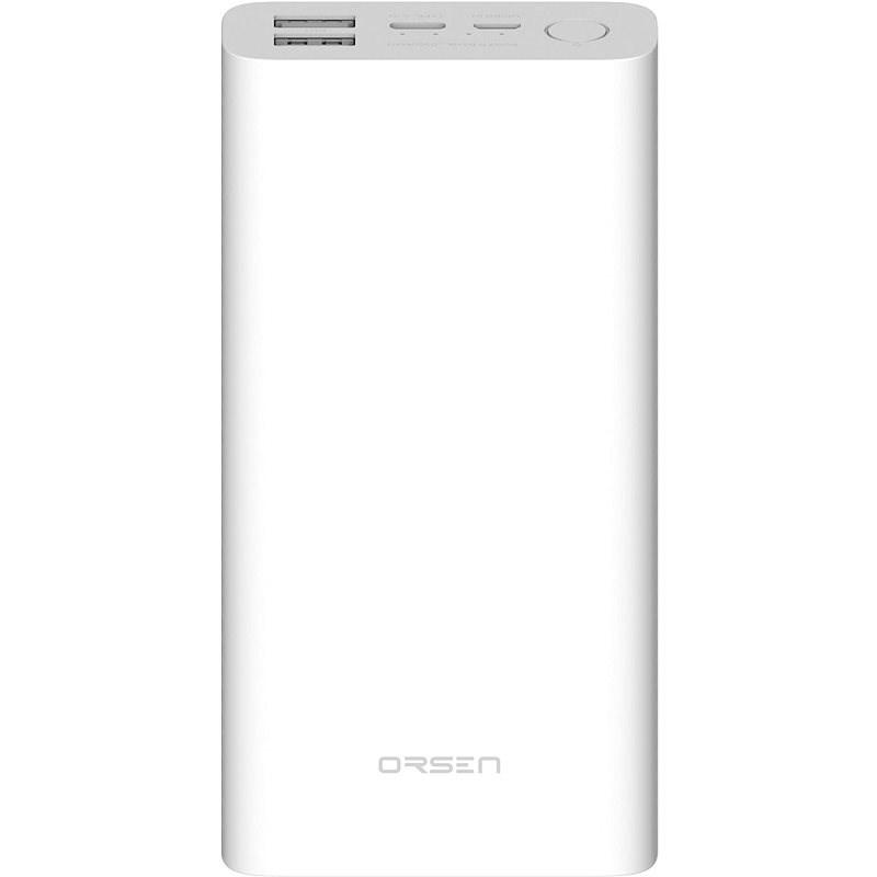 Eloop E39 20000mAh White - Powerbanka