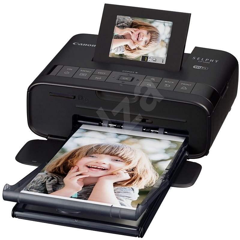 Canon SELPHY CP1200 černá - Termosublimační tiskárna
