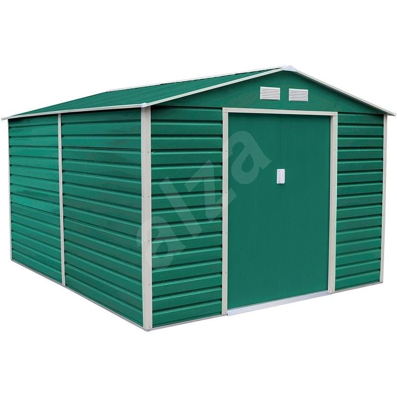 G21 GAH 1085 - 340 x 319 cm, zelený - Zahradní domek