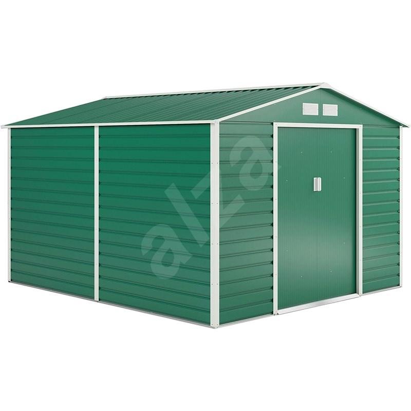 G21 GAH 884 - 277 x 319 cm, zelený - Zahradní domek