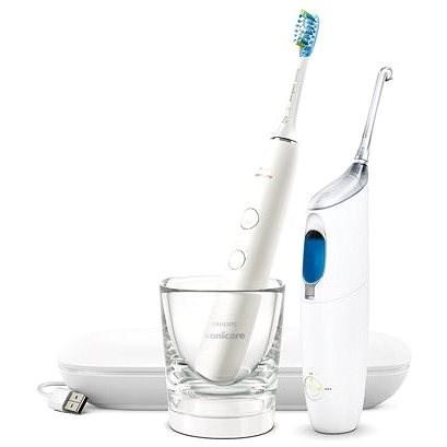 Philips Sonicare DiamondClean nové generace a AirFloss Pro HX8494/01 - Elektrický zubní kartáček