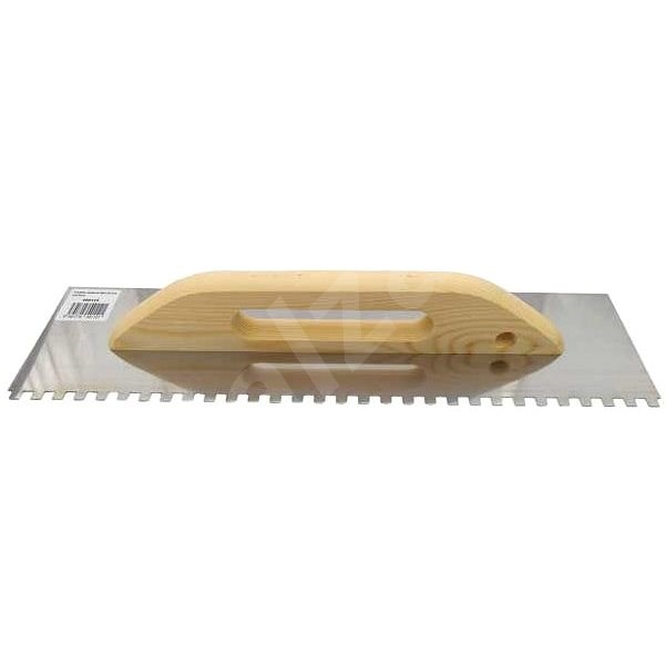 MAGG Stainless-steel Trowel, 480 x 130mm with 10mm Teeth - Trowel