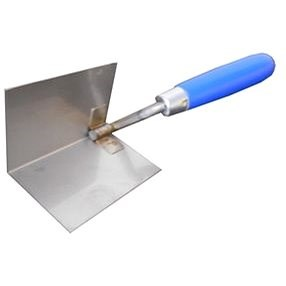 MAGG Interior Corner Trowel stainless steel 60x85mm - Bucket Trowel