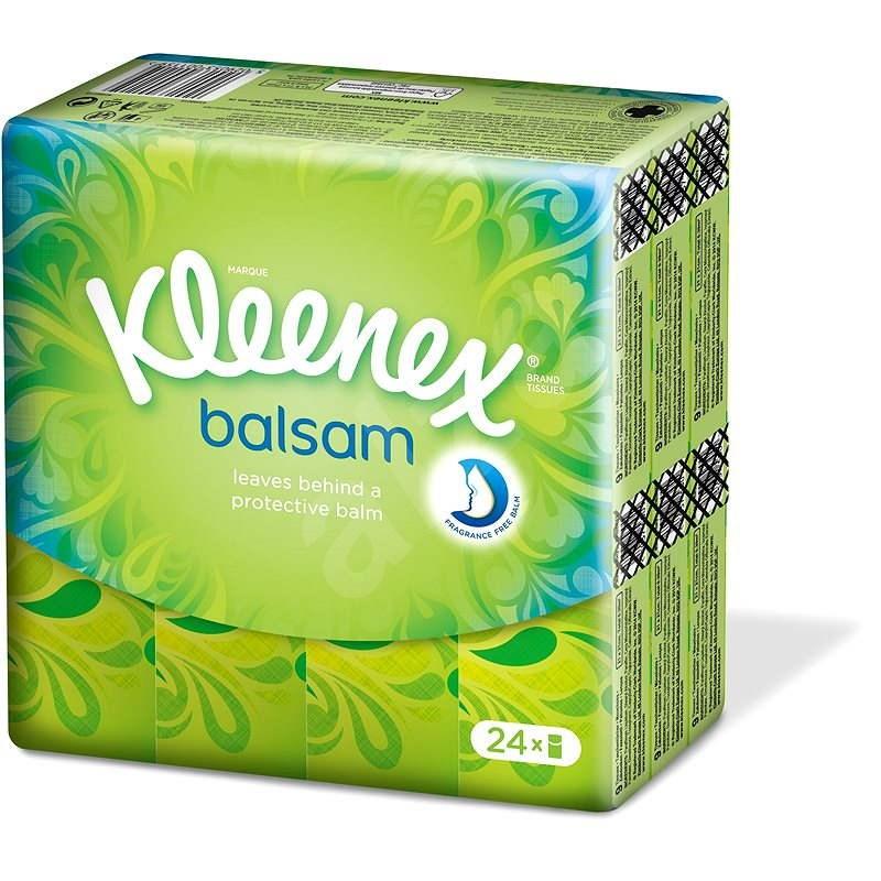 KLEENEX Balsam Hanks kapesníčky (24x9 ks) - Papírové kapesníky