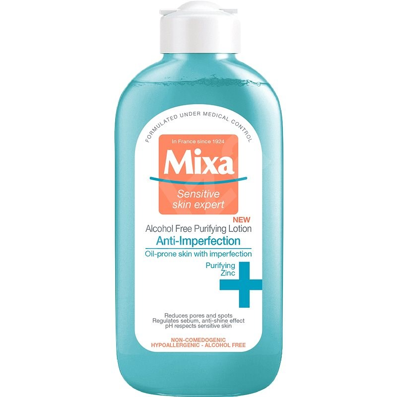 MIXA Anti-Imperfection Alcohol Free Purifying Lotion 200 ml - Pleťová voda