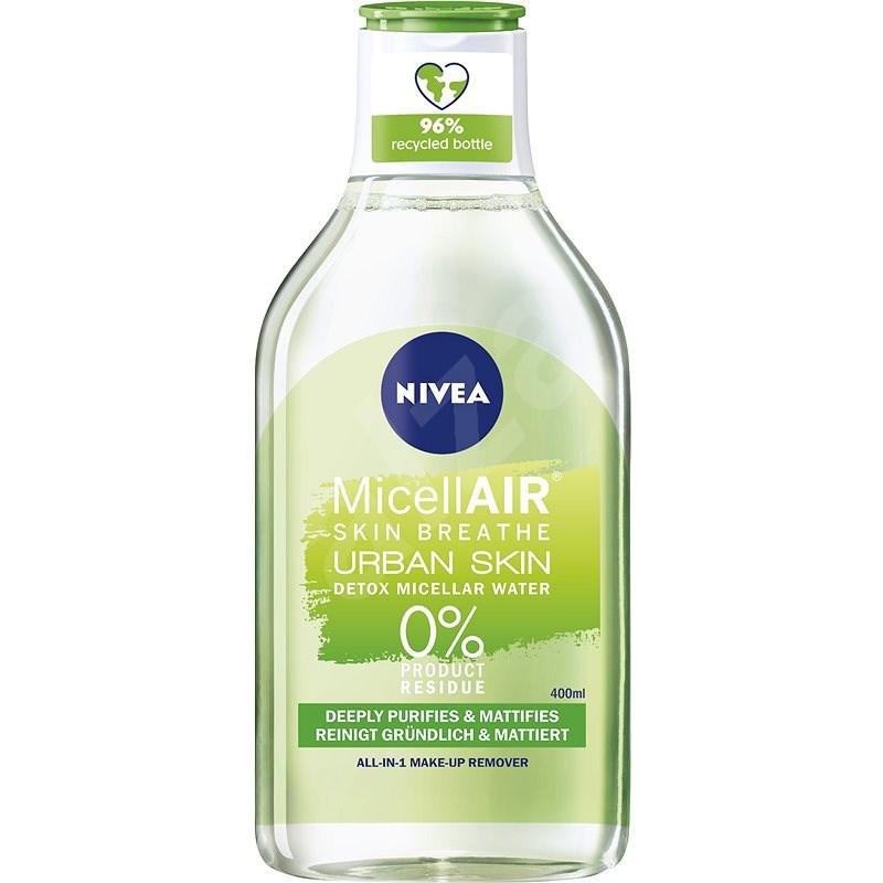 NIVEA Urban Skin Detox 3in1 Micellar Water 400 ml - Micelární voda