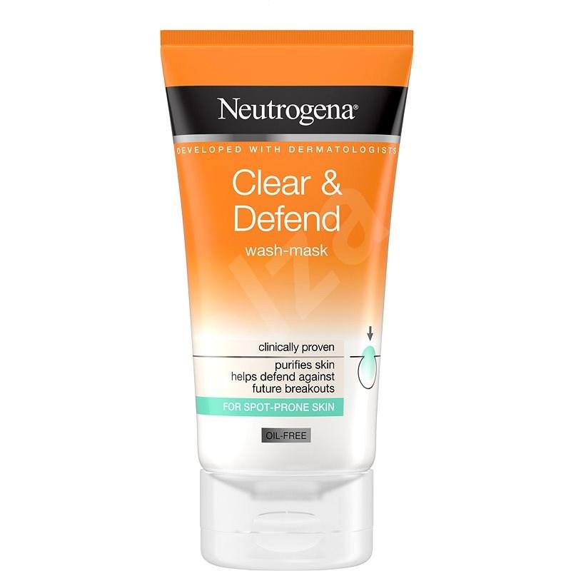 NEUTROGENA Clear & Defend Proofing 2in1 Wash-Mask 150 ml - Čisticí krém